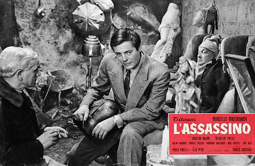 Elio Petri, regista che amava Mezzane di Sotto - Verona - Biblioteca comunale Andrea Porta - film L'Assassino - con Marcello Mastroianni