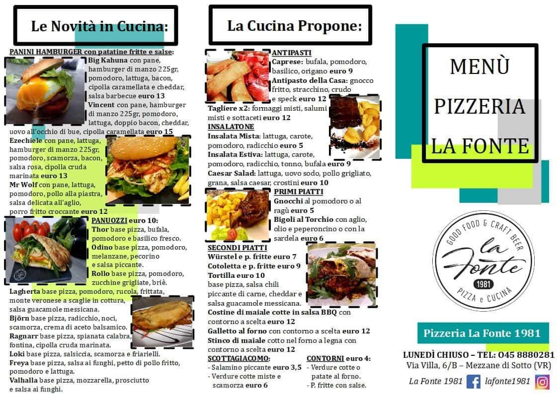 Pizzeria La Fonte 1981 - Festa dell'Olio - Mezzane di Sotto - Verona - Biblioteca Andrea Porta - menu2-min