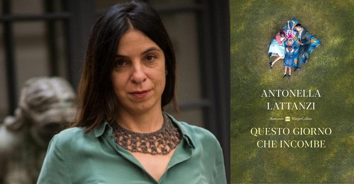 Antonella-Lattanzi-romanzo-Questo-giorno-che-incombe-blog-Il-Biondino-della-Spider-Rossa-Agenzia-CorteMedia-ritratto-scrittrice-e-foto-libro